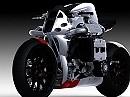 Kickboxer - Konzeptbike mit Subaru WRX Motor