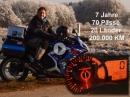 Kilometerfresser Andal: 200.000 km GSX-R 750, erster Motor erstes Getriebe
