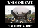 """Klassiker 'I'm home alone"""" - Ich bin allein zu Hause ..."""