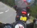 Klassischer Motorrad Auffahrunfall: Siehste vor Dir rotes Licht, bremse oder bremse nicht!