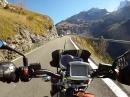 Klausenpass am Abgrund mit Moto Guzzi Griso 1200 8V SE