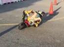 Knieschleifen, Drift und Slide - Spanischer Kindergarten für Racekids