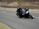 Knieschleifen mit Honda Pan European ST 1100