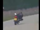 Knieschleifen üben - auf den Spuren von Rossi