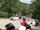 Knieschleifen vs. Gegenverkehr - Beinah Crash - Kombi Bräuner