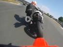 Könner: Gebückte richten - Honda 500CR Supermotard beim demütigen