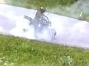 Komme nicht vom Fleck - Burnout mit Suzuki Bandit