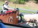 Kracher: Ben Hur on Road - Asphalt Gladiator Unglaublich