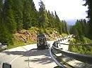 Kreuzberg Sattel / Paso Monte Croce di Comelico Dolomiten (Italien) mit BMW R 1200 GS