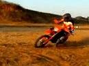 KTM 125 EXC Drift im Dreck - auch das geht