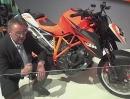 KTM 1290 Super Duke R - KTM Designer Gerald Kiska erklärt Details