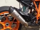 KTM 1290 Super Duke R - Titanium Auspuffanlage von SC-Project