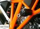 KTM 1290 Superduke R & GT - Sturzpads mit Aufpralldämpfer von Team Metisse