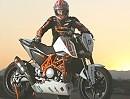 KTM 690 Duke EJC eingesetzt im KTM European Junior Cup (14-19 Jahre)