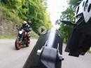 Challenge KTM 690 Duke vs KTM 1290 SAS - Which bike works better ?