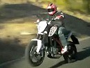 KTM Duke 690 2012 first Ride via MCN