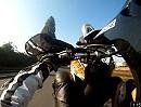 KTM LC4 640 Wheelie üben mit Kennzeichen kratzen