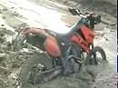 KTM LC4 Enduroaction im Tagebau