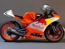 KTM Moto3 Projekt mit eigenem M32 Einzylinder Motor