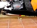 KTM RC8 Racing Akrapovic Auspuffanlage Titan