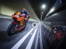 Tunnel ballern! KTM-Pilot Miguel Oliveira knallt durch den Gleinalmtunnel in Österreich