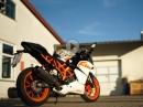 KTM RC125 von Max - sehr geiler Umbau | Jens Kuck Motolifestyle