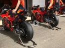 KTM RC16 WarmUp - Let the Music play - Ready for MotoGP 2018