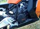 KTM RC8 Akrapovic Auspuffanlage - was für die Ohren!