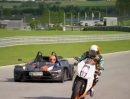 KTM RC8R vs. KTM X-Bow RR / Martin Bauer vs. Tiff Needell