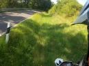 KTM SMC R Abflug in den Graben, gut gerettet!