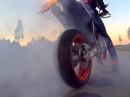 KTM SMC R Burnout | iDriveHD | Remus Sound