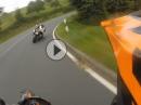Hutzwiese KTM SMC-R - Supermoto Wemsing hinter Gebückten