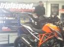 KTM Super Duke 1290 R mit Akra = laut ?!?! *rofl* Triplespeed SD8S
