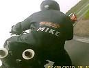 Aufholjagd mit Überschlag - KTM Super Duke Battle Oschersleben Speedweek 2010 Rennen 1