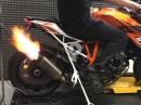 KTM Superduke 1290 R, Akrapovic Evo 2