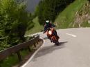 KTM Superduke 1290 die erste Ausfahrt :-) Plansee, Hahntenjoch