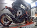 KTM SuperDuke 1290 Dyno > 180PS >150NM Akra, ECU Mapping