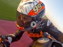 KTM Superduke 1290 R Qatar onboard Jeremy McWilliams