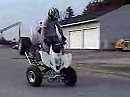 Künstler am Quad Whoolies and Big Air