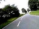 Kurven kratzen mit der Yamaha XJR 1200 von Krumbach nach Lindenfels (Odenwald)