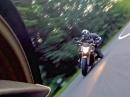 Kurven Szene: Yamaha vs. Honda - Action im Harz