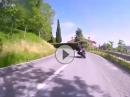 Kurvenjunkies in der Toscana und Emilia Romagna. Kurven, Kurven, Kurven