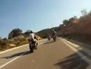 Kurvensammler Kroatientour 2012: München, Dolomiten, Kroatien auf die Insel Mali Losinj