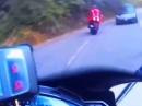 Kurvenschneider Beinah Crash: Rumgezappelt und (beinah) reingerappelt