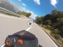 Kurvensurfen auf Sardinien 2016 - Motorradurlaub