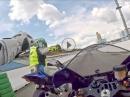 Kurztest Yamaha R1 / R6 mit Rennleitung 110 von Jens Kuck Motolifestyle