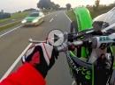 Kx250F Wheelie & Fun, Polizei .... und nichts wie weg *lol*