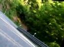 Kyffhäuser nach hinten gefilmt mit Ducati Monster 900