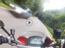 Laacher See, Waldfrieden, Nickenich zügige Heimfahrt mit Ducati Monster