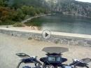 Lac Blanc (Elsass)  mit den 125 Rheinland Eifel Biker